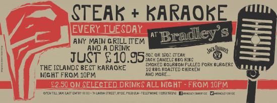 Bradley's: Steak & Karaoke