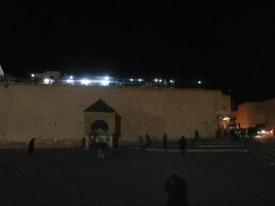 Pavillon des Idrissides: Terrace