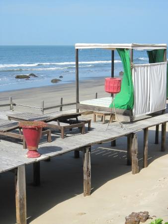 Ngala Lodge: Beach Front