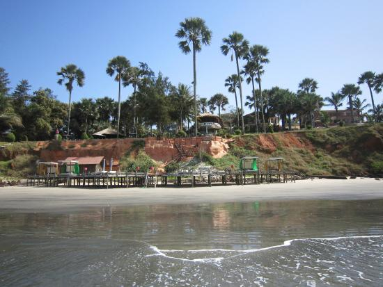 Ngala Lodge: Beach