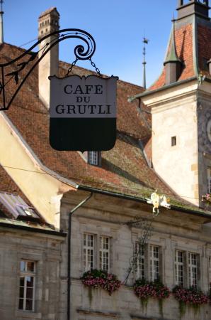 Cafe Du Grutli Lausanne Rue Mercerie 4 Restaurant Reviews