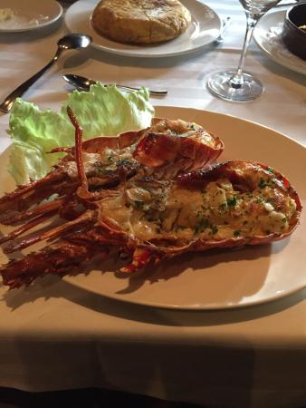 Don Pepe Restaurante : Grilled lobster