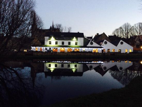 Mosset Tavern Christmas Lights 2014