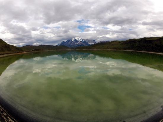Lago Nordenskjold: meditar
