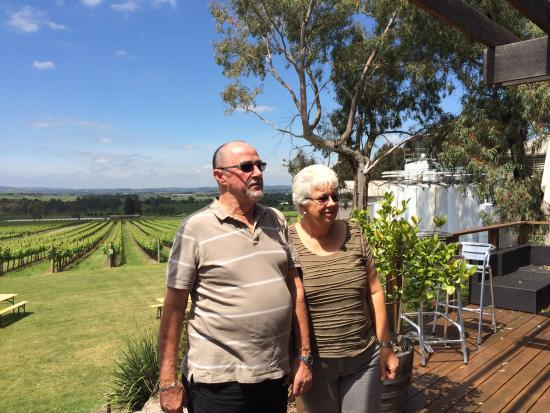 Wild Wombat Winery Tours: Fabulous company from Barb n Bruce