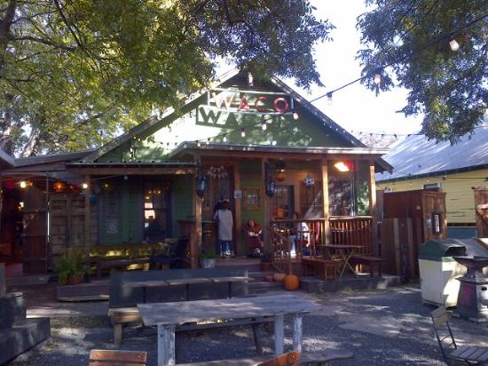 Common Grounds: Back yard