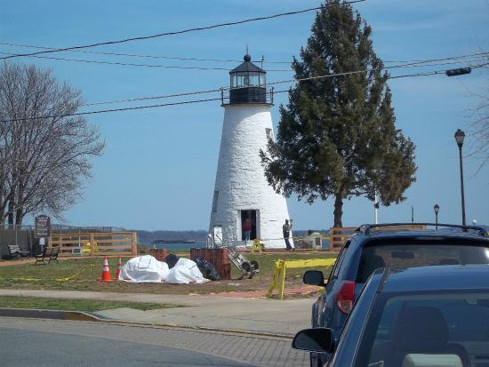 Concord Point Lighthouse: View from gift shop