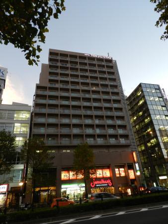 Tokyu Stay Yotsuya : Front of the hotel