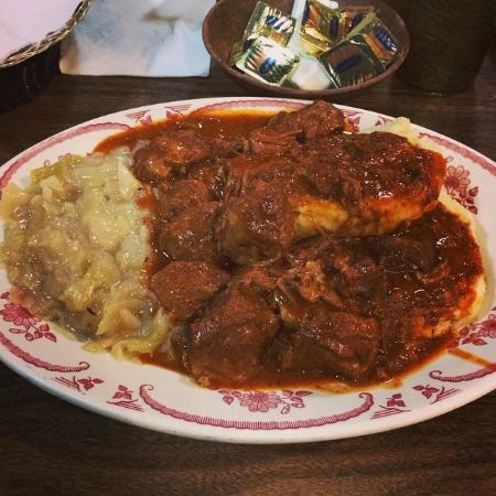 Bohemian Cafe: Get the goulash!