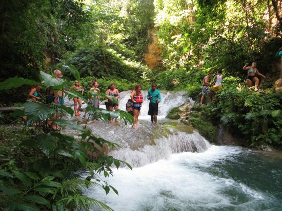 Blue Hole With Liberty Tours Picture Of Liberty Tours Jamaica - Liberty tours jamaica