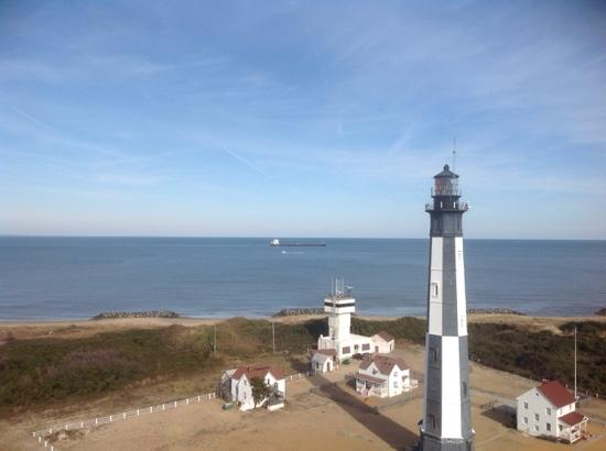 Cape Henry Lighthouse New On Fort Story