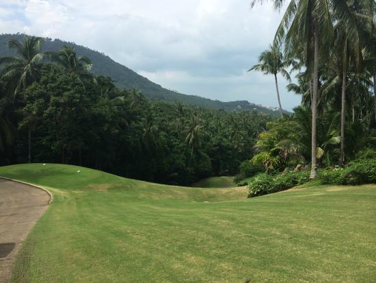 Santiburi Samui Country Club: Great Scenery