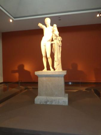 Hermes - Picture of Hermes by Praxiteles, Olympia ...