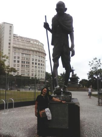 Praça Mahatma Gandhi