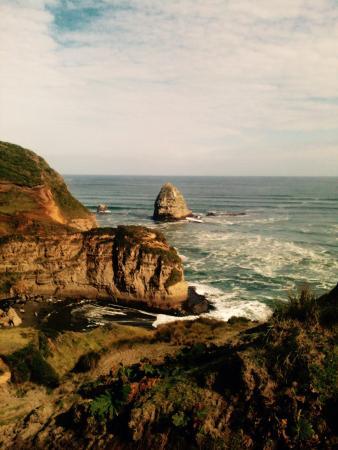 Chonchi, Chile: Playa camino al Muelle