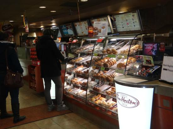 how to find tim hortons restaurant numbner