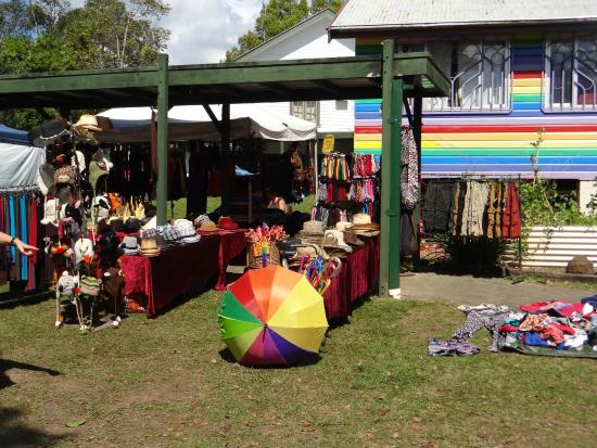 Nimbin Markets: Full of hand made, hand grown, fair trade and recycled artisan goods and sumptuous food!