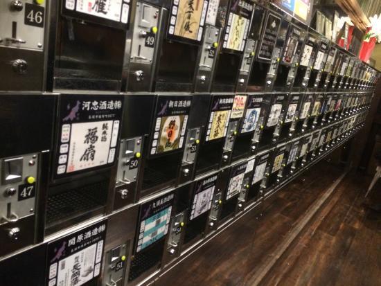 ぽんしゅ館 新潟駅南口, こんな感じの店内です。