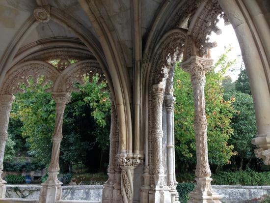 Palace of Bussaco : Vista dos jardins