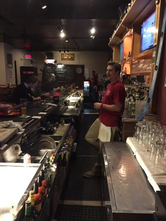 Church Street Tavern: Conor the bartender