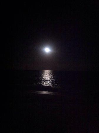 Playa Palmilla (Palmilla Beach): Full moon at Palmilla Beach