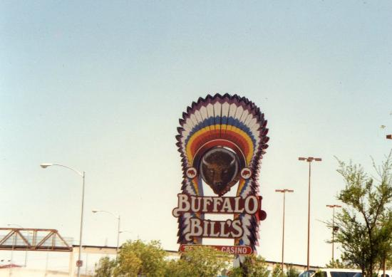 Buffalo Bill's Resort & Casino : Entrance Sign