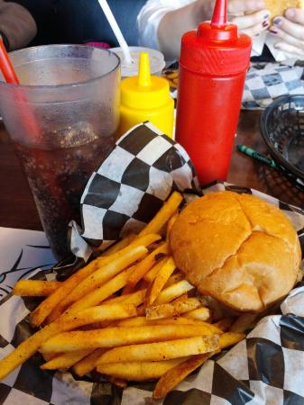 Burger And Fries Picture Of Tommy S Malt Shop Savage Tripadvisor