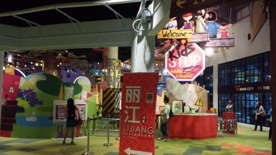 Omni-Theatre by Science Centre Singapore: Kids Area