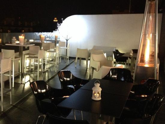 Hotel Patio de la Alameda: Amplitud en nuestra cafeteria