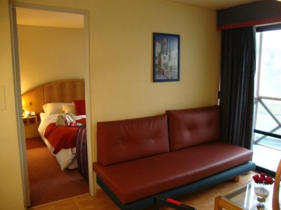 Apart Hotel La Fayette: Sala