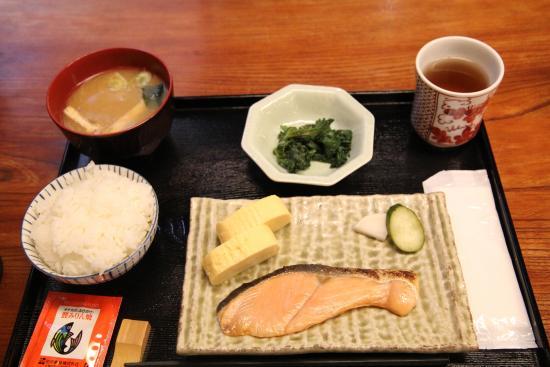 Kyomachiya Ryokan Sakura Honganji: Japanese breakfast