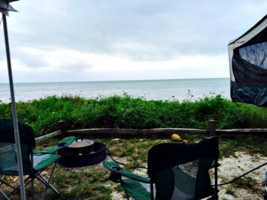 Long Key State Recreation Area: Waterfront campsites