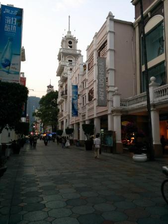 Sunwen West Road Pedestrian Street: BOC