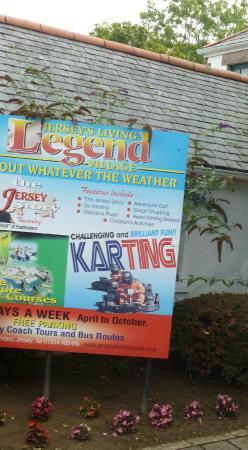 The Living Legend Village: Sign
