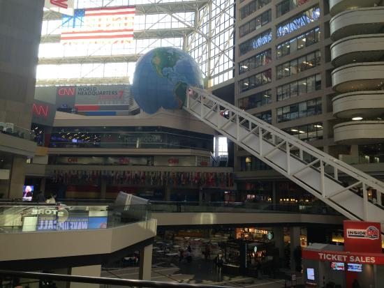 world headquarters picture of cnn studio tours atlanta