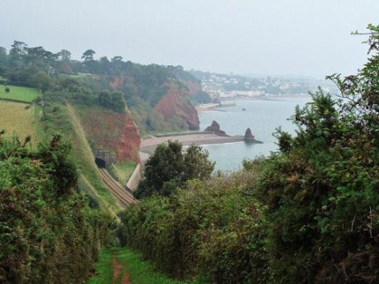Teignmouth to Dawlish Railway Walk