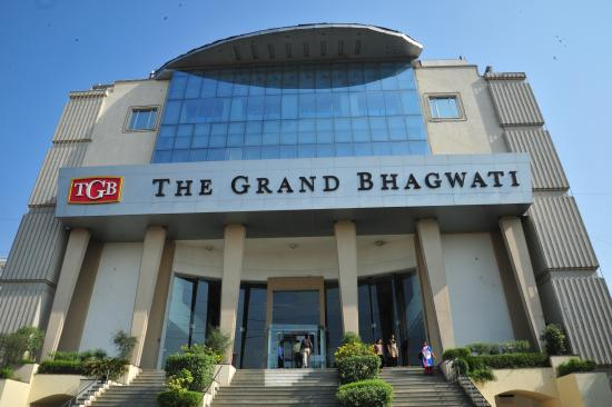 The Grand Bhagwati: Exterior
