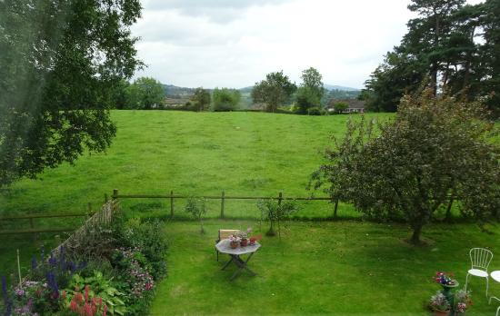 Yew Tree Farm: View from bedroom