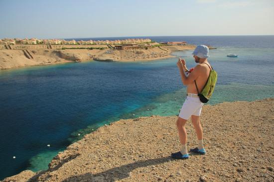 Al Nabila Grand Bay Makadi: С горы вся бухта
