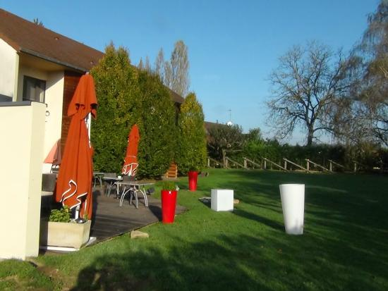 Auberge de Chavannes : terrasse