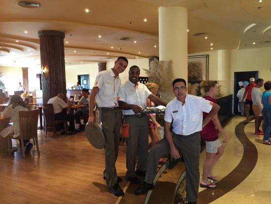 Hilton Hurghada Resort: The 3 amigos ����