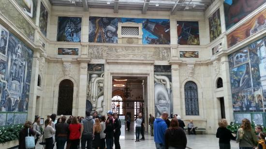 Picasso picture of detroit institute of arts detroit for Diego rivera mural chicago