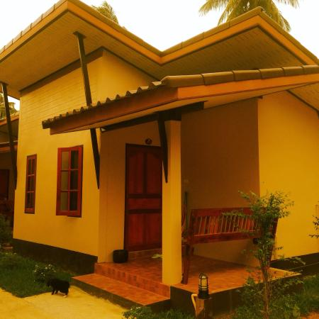 Sonya Restaurant & Guesthouse : Lovely new bungalow