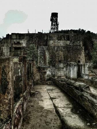 Fieldwork Riotinto: Peña del Hierro, ruinas