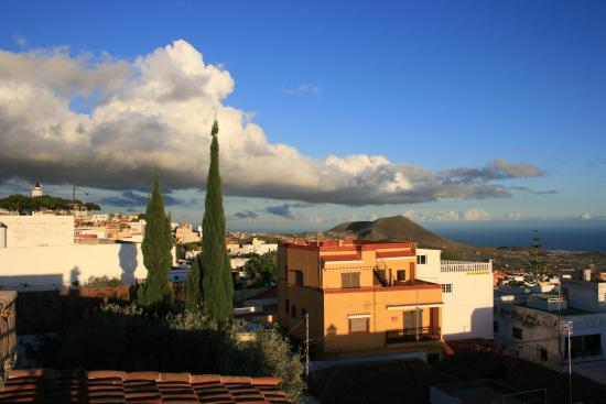 Hotel Rural San Miguel: VIEW FROM THE HOTEL TERRACE AT SUNSET