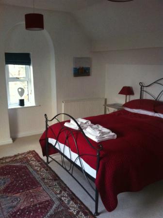 Saxon Villa: attic room with a view
