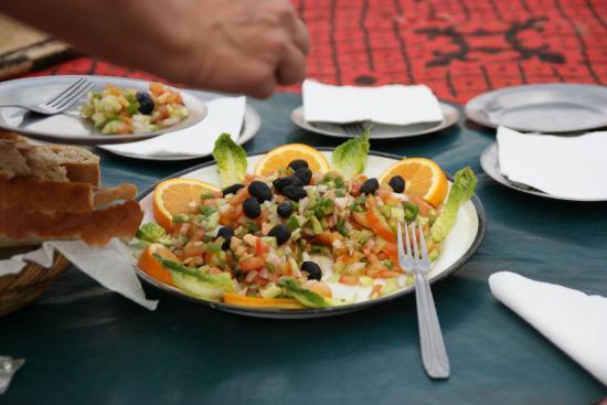 Chez le Pacha: Essen