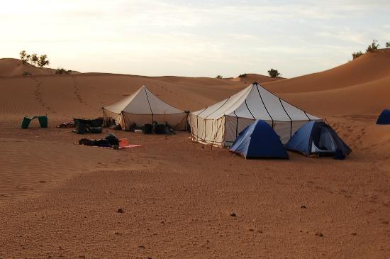 Chez le Pacha: Kleines Zeltcamp beim Ausflug mit Übernachtung