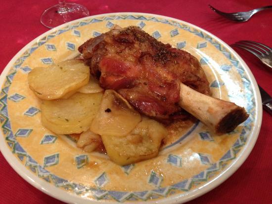 Ternasco con patatas a lo pobre foto de casa montanes sarago a tripadvisor - Casa montanes zaragoza ...