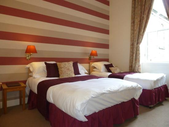 The Broughton Hotel: Family  en-suite room room 3/4 persons